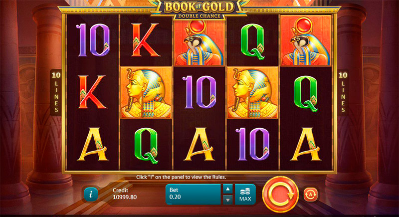Игра Book of Gold Double Chance